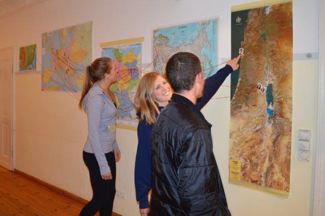 התנדבות באירופה עם ארגון בית בן-יהודה